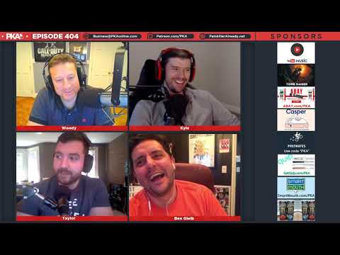 PKA 404 w/ Ben Gleib - Dr Disrespect Shot At, Wings Challenges Hurricane, COD Blackout