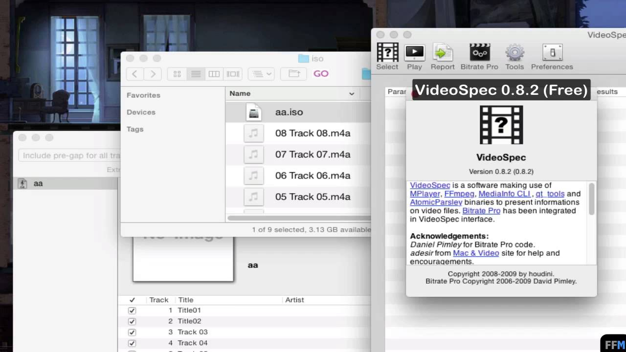 Convert SACD-ISO to MP3,M4A Free on Mac