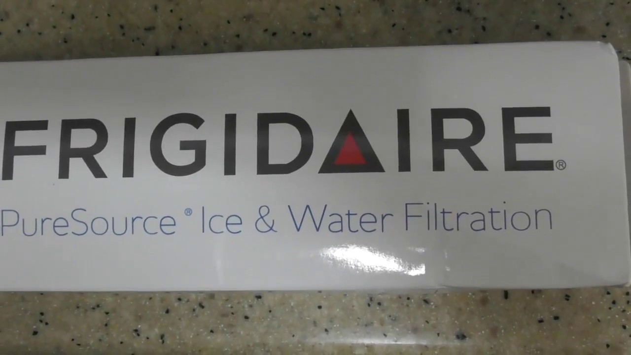 Frigidaire Pure Source Ultra ULTRAWF Refrigerator Water Filter installation