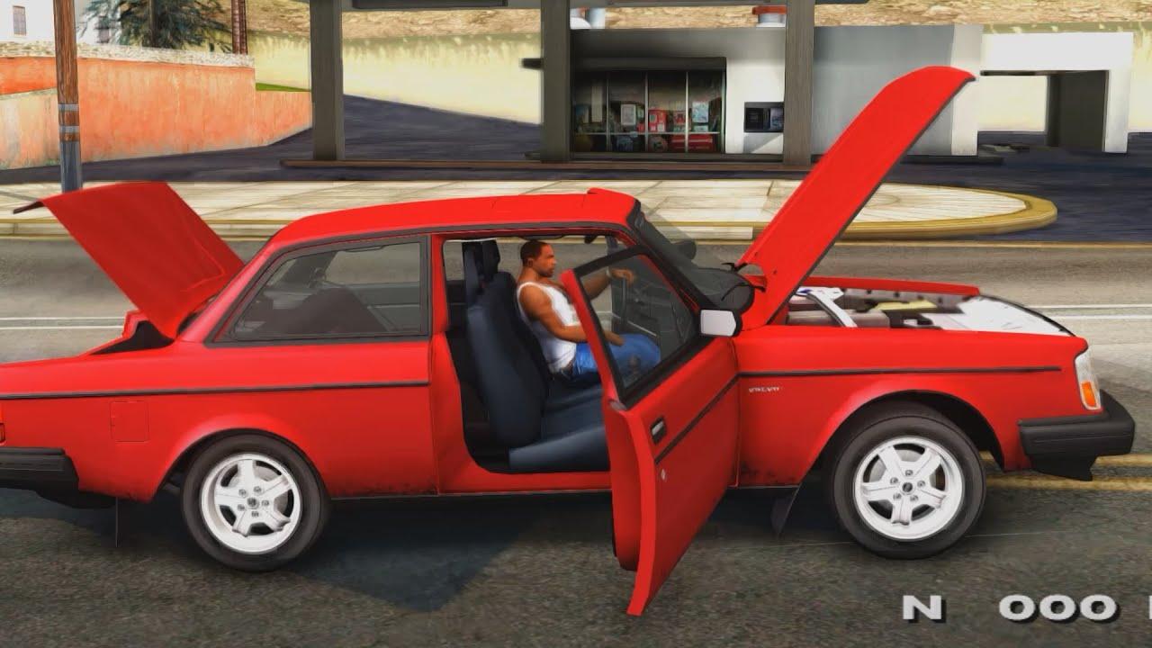1983 Volvo 242 Turbo Evolution Gta San Andreas 1440p 2 7k