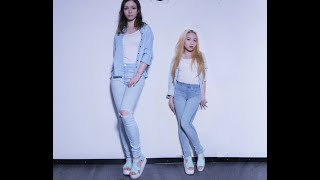 dalshabet 달샤벳 someone like u 너 같은 r 10 duo dance cover nana cherripy