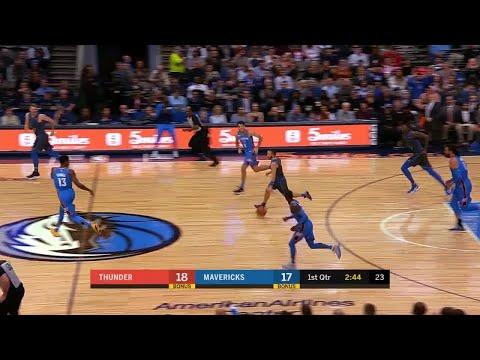 1st Quarter, One Box Video: Dallas Mavericks vs. Oklahoma City Thunder