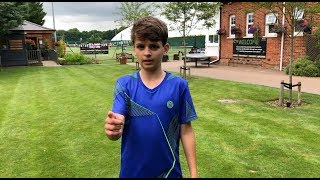 Watch my first ever Tennis Europe match - Did I win or lose?!
