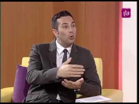 Roya TV Sufian Sawalha on Christmas Decorations Part1 سفيان صوالحة