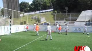 Юные рубежанские футболисты побывали на Евро-2012.flv
