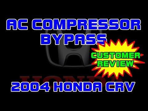 ⭐ 2004 Honda CRV - 2.4 - Bypass The AC Compressor - CUSTOMER REVIEW