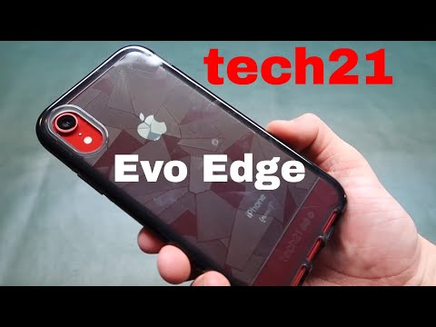 tech21 Evo Edge Case for iPhone XR