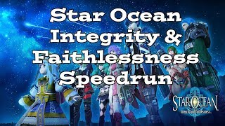 Star Ocean Integrity and Faithlessness Speedrun