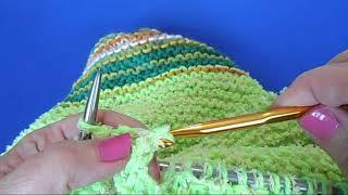 Красивая юбка на весну / Мастер-класс / Вязание спицами и крючком