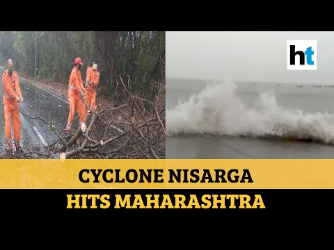 Cyclone Nisarga makes landfall in Maharashtra; strong wind, rainfall witnessed