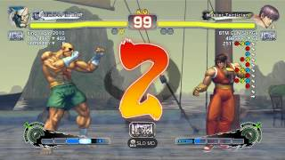 USFIV~ Sagat (king sagat 2010) vs  Guy (BTM GuN SLinGa) HD 3