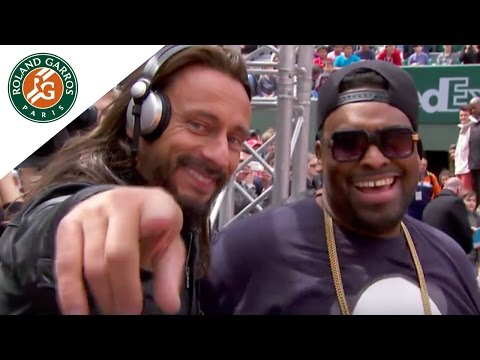 Bob Sinclar's Live Set for 2014 French Open Kids' Day - Roland-Garros