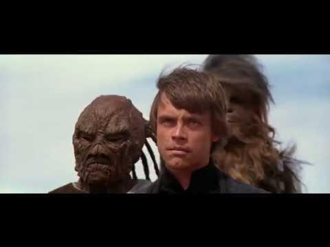 Luke with Red Lightsaber