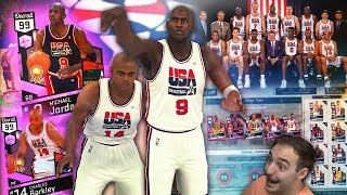 NBA 2K17 My Team DREAM TEAM FULL LINEUP! INSANE STACKED TEAM WITH NASTY UPGRADES! TOO NICE! thumbnail