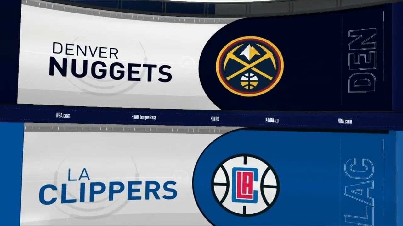 NBA  PS  Denver Nuggets vs Los Angeles Clippers   Oct 10,  2019
