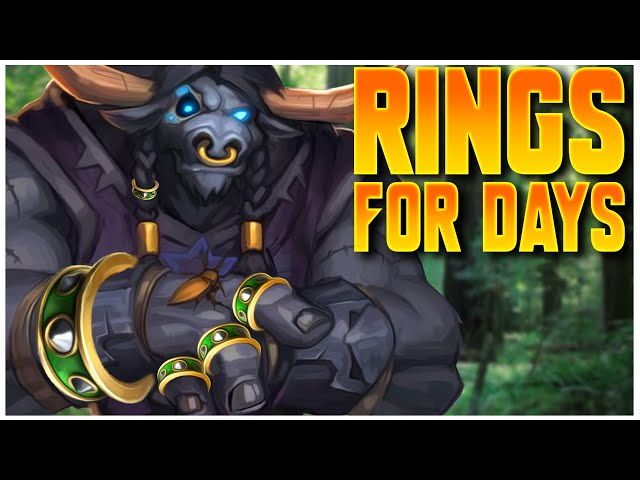Grubby | WC3 | Rings For Days!