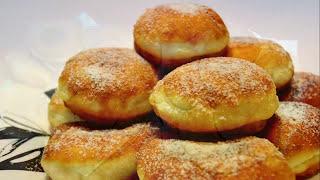 ПОНЧИКИ! Пышки Любаша. Пончики для любой начинки. Рецепт пончиков.
