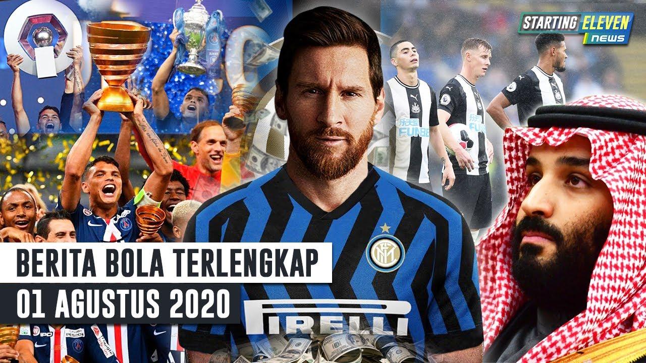 PSG RENGKUH Treble Winners 😲 Ingin Messi, Inter Siapkan DUIT Rp4.5 T😲 Newcastle BATAL Jadi Klub Kaya