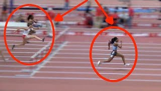 Keni Harrison CRUSHES 60mH Competition