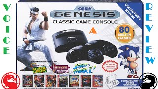 Voice a Review: Episode 14 - AtGames Sega Genesis Classic Game Console