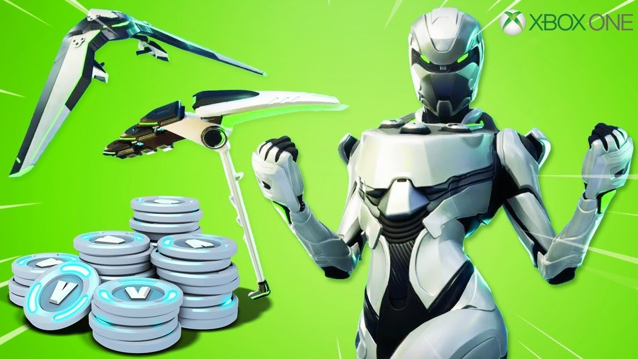 New XBOX SKIN + V-BUCKS PACK in Fortnite.. (EXCLUSIVE EON ...