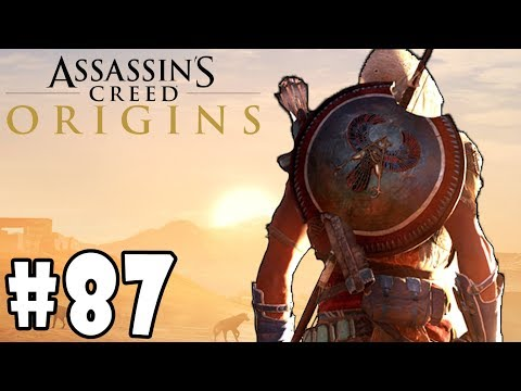 Assassin's Creed: Origins - Walkthrough - Part 87 - Phylake's Prey (Ra's Mercy) HD