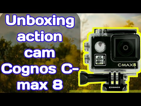 REVIEW action camera cognos C-MAX8