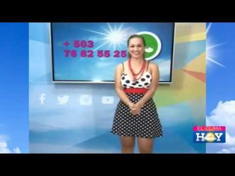 Beautiful Woman Weather /El Tiempo 06/06/2016 El Salvador