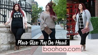 Plus Size Try On Haul - Boohoo