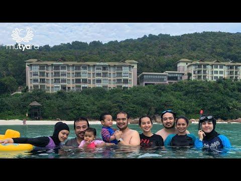 FAMILY HOLIDAY DI PULAU REDANG   AYAH, MAK ITI, ADIB KHALID, IZARA AISHAH, ARIF