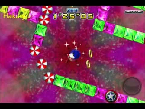 Sonic 4 Special Stage 1 Speedrun 1'18