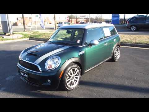 2009 mini cooper s clubman walkaround start up tour and overview youtube. Black Bedroom Furniture Sets. Home Design Ideas