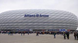 Bayern - Allianz Arena - Entrada e saída do estádio, preço do ingresso e canto da torcida!
