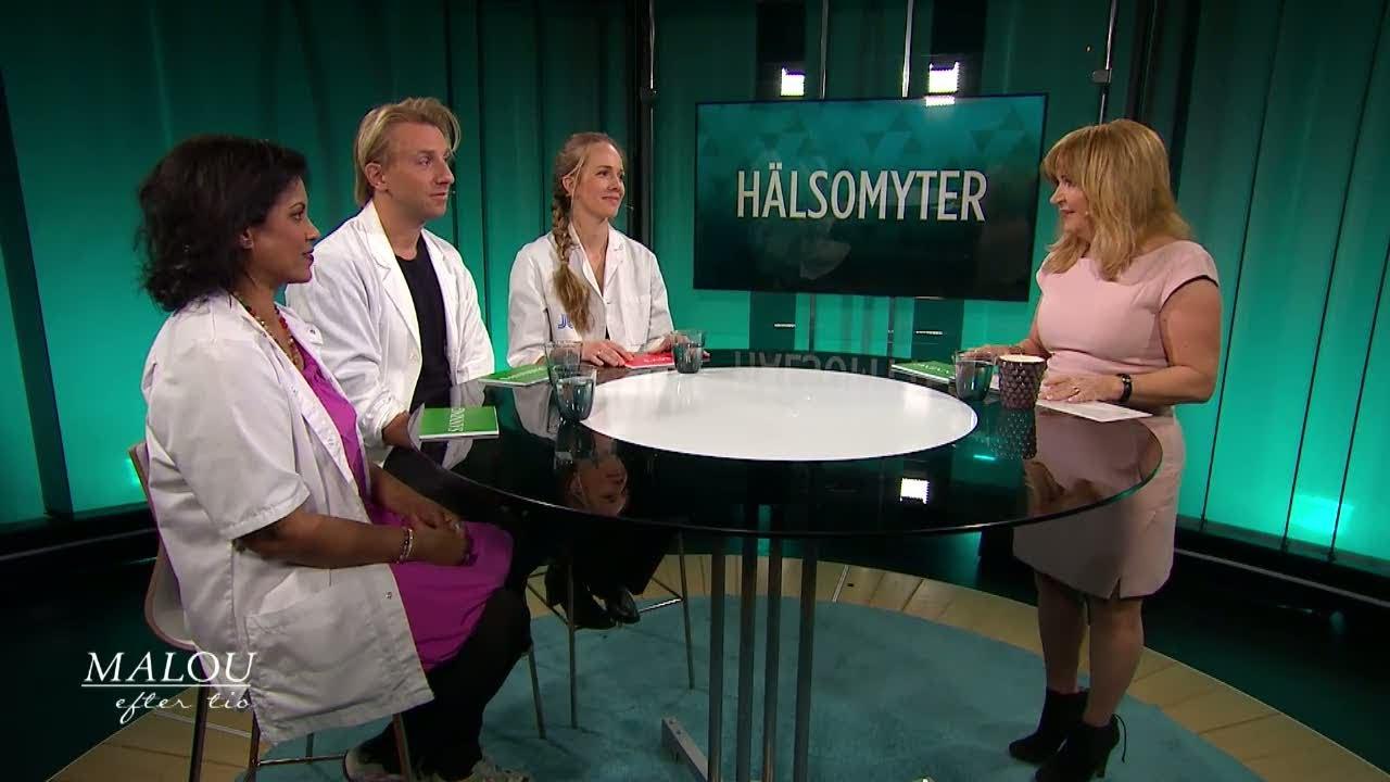 Hälsomyter: Visar färgen på snoret om man har virus eller bakterier? - Malou Efter tio (TV4)