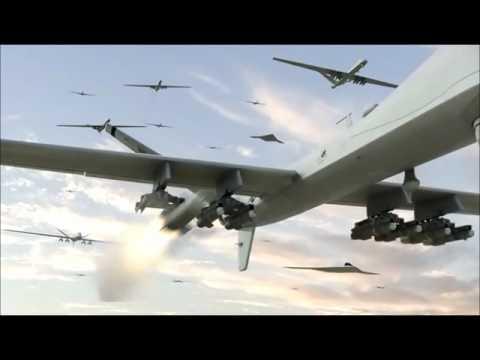 Skyline Bomber Scene with Transformers Music