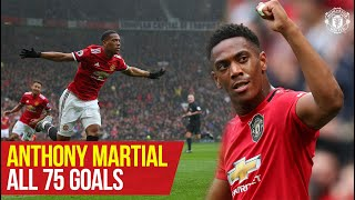 Anthony Martial reaches 75 goals for Manchester United | Every Goal