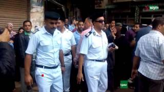 """مسن لمحافظ القاهرة بجولة الدرب الأحمر:""""أنا عارف مفيش فايده منك"""""""