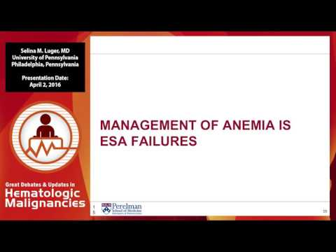 Debate: Hypomethylating agents are appropriate in lower-risk MDS - Only Use With Caution