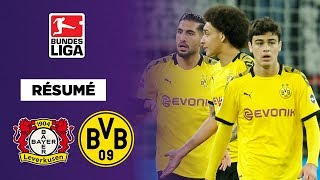 VIDEO: Résumé : Pluie de buts mais défaite du Borussia Dortmund contre le Bayer Leverkusen