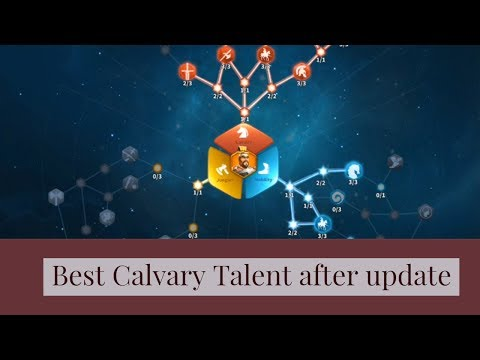 Rise of Civilizations - Best Calvary talent after the talent update