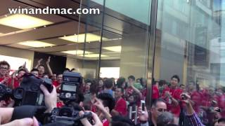 Gambar cover Apple Store Causeway Bay (Hysan Place) Hong Kong opening