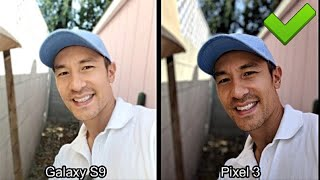 Google Pixel 3 -vs- Samsung Galaxy S9: Fifty Camera Photo Comparisons (Obvious Winner here!)