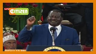 Raila: BBI is about changing this country, creating new narrative and uniting the country