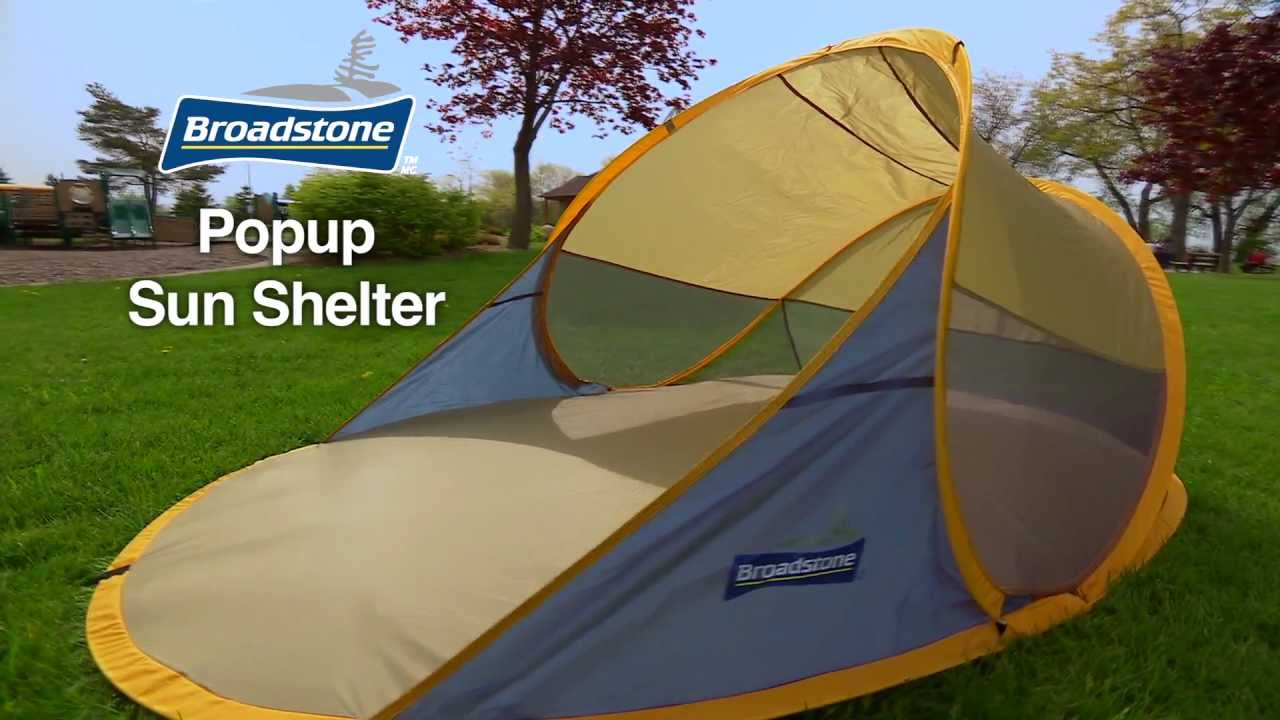 Broadstone Popup Sun Shelter From Canadian Tire - YouTube