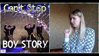 Video BOY STORY - Can't Stop |Live Reaction| download MP3, 3GP, MP4, WEBM, AVI, FLV Mei 2018