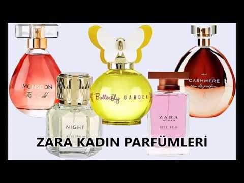 Zara Kadin Parfümleri Oylamasi Zara Parfüm Yorum Youtube