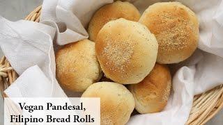 How To Make Vegan Filipino Pandesal Bread Rolls