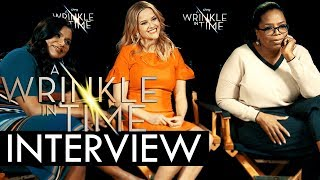 A Wrinkle In Time Exclusive Interview: Oprah Winfrey, Reese Witherspoon, Mindy Kaling