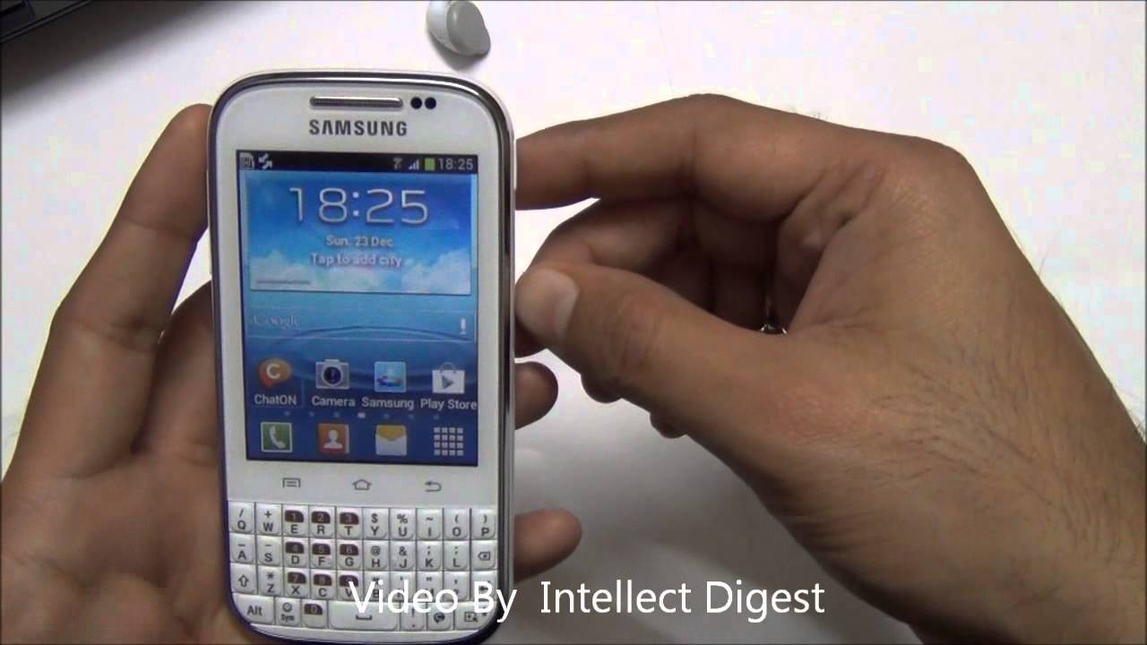 Camera Samsung Qwerty Android Phone samsung galaxy chat b5330 detailed review qwerty android phone phone