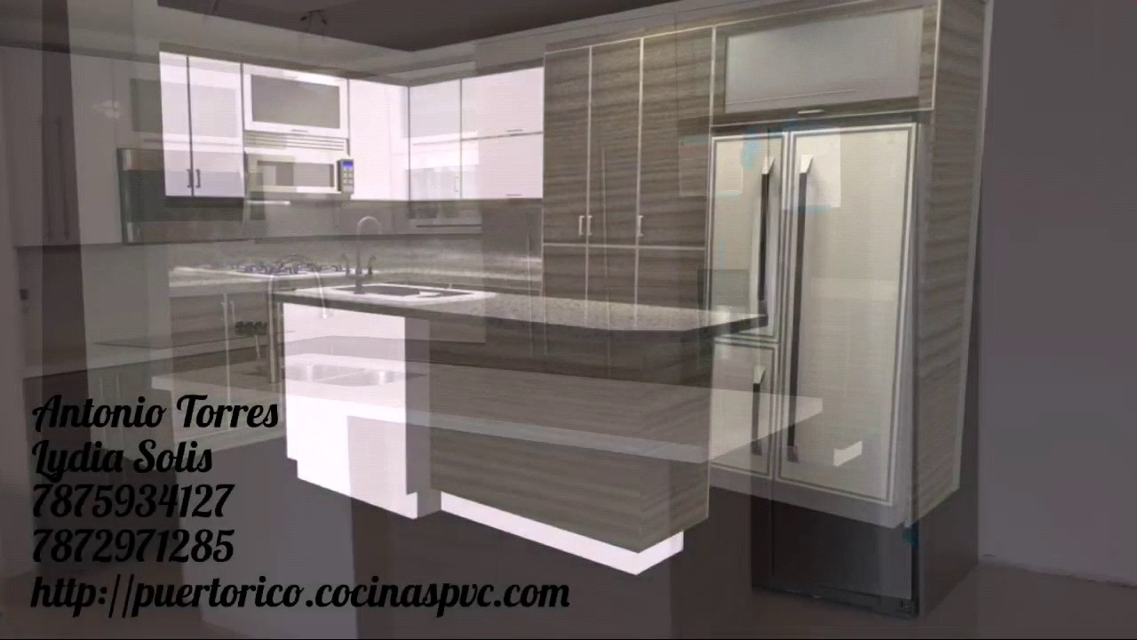 gabinetes de cocina en pvc puerto rico pvc kitchen cabinets youtube. Black Bedroom Furniture Sets. Home Design Ideas
